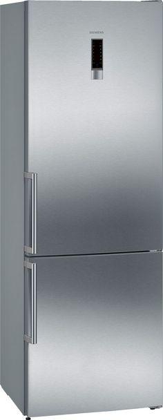 Fridge Freezer, 435L, A++ by Siemens - KG49NXI30 Vertical Doors, Freezer Storage, Door Seals, Bottle Rack, Energy Consumption, Safety Glass, Glass Shelves, Door Design, Refrigerator