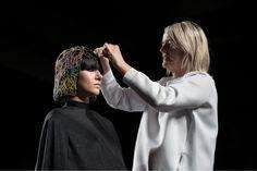 Tim Hartley, Joahnna Cree Brown del Trevor Sorbie e X-presion. Sponsored by Previa Haircare