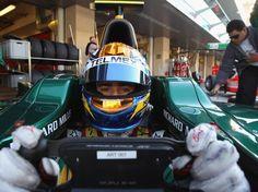 Gutiérrez hizo vueltas rápidas Esteban Gutierrez, Formula 1, F1, Lotus, Sports, Lotus Flower, Lily