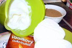 Tvarohovo-orechový koláč (fotorecept) - recept | Varecha.sk Ale, Icing, Pudding, Desserts, Food, Tailgate Desserts, Deserts, Ale Beer, Custard Pudding