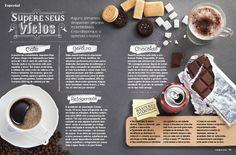 Mudança de habito. Gloss Magazine by Caetano Calomino, via Behance