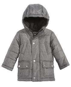 BOYS KIDS FROST FLEECE OUTAWEAR CASUAL SCHOOL BLACK NAVY COAT OVERCOAT JACKET