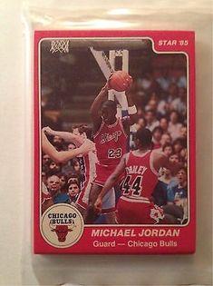 1984-85 Star Chicago Bulls Sealed Team Bag 101 Michael Jordan X RC Rookie card     eBay