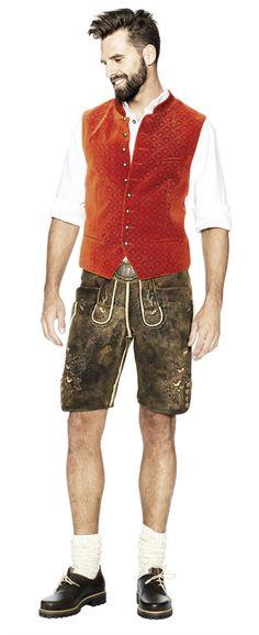 ANGERMAIER Kollektion 2014 German Outfit, Lederhosen, Style Snaps, Bavaria, Leather Men, Hot Guys, Men's Fashion, Germany, Menswear