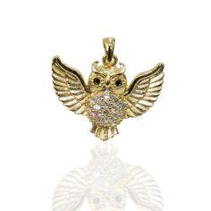 350ab38a7706e 61 melhores imagens de Pingentes - Folheado a Ouro   Gold leaf ...