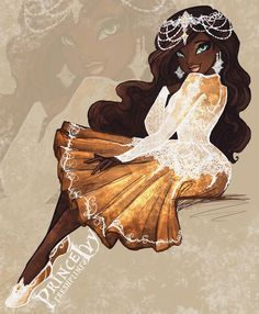 Justine Dancer (Filha da 12○ Princesa Bailarina)