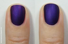 Review of Avon Magic Effects Matte nail polish in Violetta