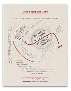 Progetto di comunicazione: la programmazione delle attività 2012 Dello Scompiglio _ Meschiassocitati