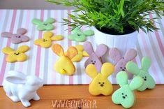 Wielkanocne zajączki ciasteczka | CIASTKOŻERCY.PL