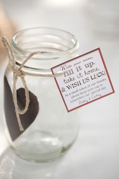 Wedding favor ideas + inspiration to help you ditch the favors guests will toss and give them something unique that they'll want to keep! Cute favor ideas, sustainable wedding favors, food favors, DIY wedding favors and other favors that guests will love! Wedding Favors And Gifts, Mason Jar Wedding Favors, Creative Wedding Favors, Inexpensive Wedding Favors, Elegant Wedding Favors, Cheap Favors, Wedding Cups, Bridal Shower Favors, Wedding Ideas