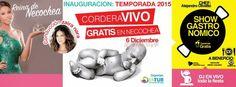 #NECOCHEA ABRE SU TEMPORADA DE VERANO EL 6 DE DICIEMBRE CON ZAIRA NARA Y GUSTAVO CORDERA
