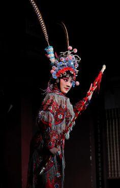 Performances of Chinese opera characters - Peking Opera blues