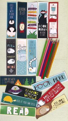 Free Printable Bookmarks - 15 Bookmarks From WeAreTeachers
