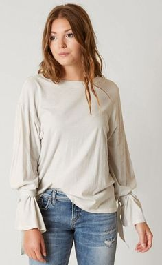 Casual Outfits for Work : White Crow Solid Top | Buckle