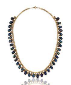 Antique Jewelry, Vintage Jewelry, Tiffany Jewelry, Tiffany Glass, Louis Comfort Tiffany, Fringe Necklace, Jewelry Stores, Jewelry Crafts, Jewelery