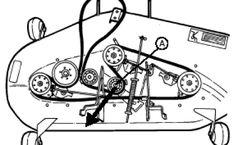 Craftsman Riding Lawn Mower Deck V-Belt Replacement