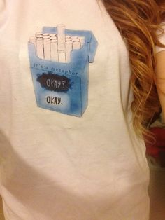 The fault in our stars its a metaphor t-shirt