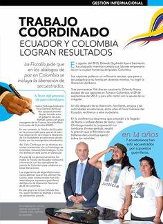 Trabajo coordinado - Ecuador Colombia  Farc- Liberación Orlando Ibarra Sarmiento