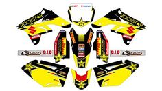 AM 006 SUZUKI RMZ 250 2007-2009 DECALS STICKERS GRAPHICS KIT Fits SUZUKI RMZ 250 2007-2009 All graphics kits are custom made to order, 1-3 business days to shipping. Solvent inkjet the best quality(1440 dpi) by Mimaki from Japan. Clear over laminate 15 mil(381 µm) of thick for extreme riding. Fast delivery, All graphic kits ship with DHL express worldwide.