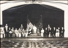 1930 Color Day Court - the first one for CASHS