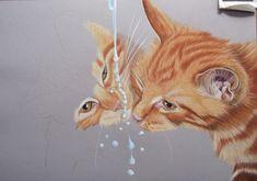 TEKENINGEN VAN MENS EN DIER Daisy, Fox, Drawing, Artwork, Animals, Computer Mouse, Dogs, Cat Breeds, Paint
