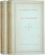 This and other other works by Hesse greatly affected my sense of identity and my world view as a young adult.