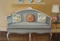 """""""Cushions"""" by Janet Hill"""