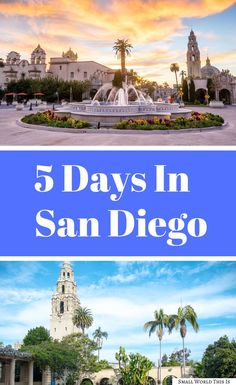 Here's what to do if you have 5 days in San Diego, from exploring the beautiful beaches of La Jolla to spending a day on the historic Coronado Island and seeing the iconic Hotel Del Coronado | san diego travel | san diego 5 days | san diego things to do #sandiego #travel