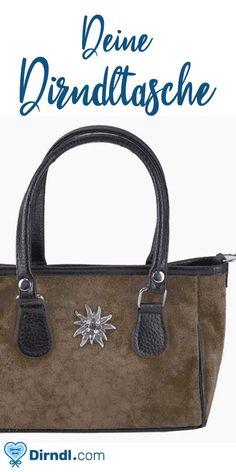 aab3d473d3764 Mini Handtasche Edelweiß beige - von dirndl.com  dirndltaschen   taschenfürdirndl  kleinetaschen