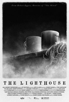"""Alternative poster for Robert Eggers film """"The Lighthouse"""". Best Movie Posters, Horror Movie Posters, Movie Poster Art, Cool Posters, Horror Movies, Lighthouse Movie, Punk Poster, Alternative Movie Posters, Scary Movies"""