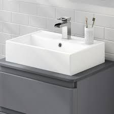 Free delivery and returns on all eligible orders. Shop Durovin Bathrooms Luxurious Stone Resin Wash Basin with Hand Shelf - Wall Hung Or Counter Top Mount Rectangular Bathroom Sink - Concealed Waste. Small Toilet, Basin Sink, Wall Shelves, Counter Top, Sweet Home, Luxury, Bathroom Sinks, Modern Wall, Design