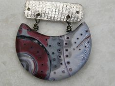 Polymer Clay Pendants - Bails and Construction Ideas