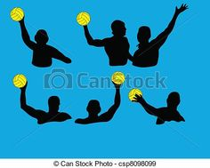 Water polo Illustrations and Stock Art. 299 Water polo ...