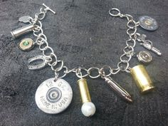 I would call this my armed and dangerous Charm Bracelet :)
