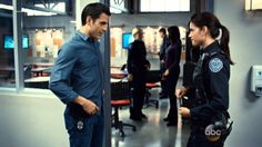 """Rookie Blue - Sam and Andy """"I will be"""""""