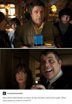 Sean Astin as Bob Newby in Stranger Things 2