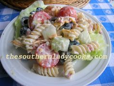 Ranch Pasta Salad - Copy