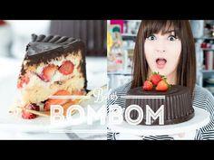 BOLO BOMBOM aka BOMBOM GIGANTE DE MORANGO (chocolate, morango e beijinho) | Dani Noce - YouTube