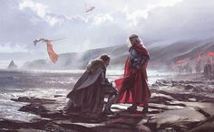 Torrhen Stark, known as the King Who Knelt, was a head of House Stark who reigned as King in the North until Aegon I Targaryen invaded Westeros with his dragons.