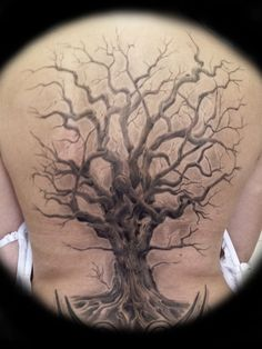 tree tattoo: Tree Freehand ...