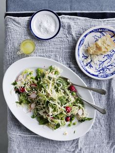 The salad is the creation of the very talented Karen Martini from Mr Wolf restaurant in Melbourne (www.mrwolf.com.au). Once you try this salad, you'll be hooked.    What you'll need:  100 grams peas, podded (about 250gm unpodded) 400 grams cabbage, shredded 150 gm small radishes, thinly sliced lengthways [...]