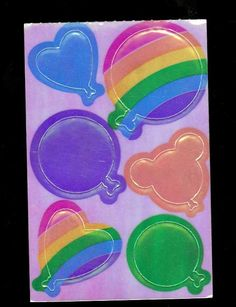 Lisa Frank. Vintage. To put on cards!