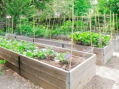 Raised Garden Bed| DIY Garden & Landscape Ideas | Patio Projects - How To Build An Awesome & On A Budget Backyard Ideas by DIY Ready at http://diyready.com/diy-garden-landscape-ideas-patio-projects/