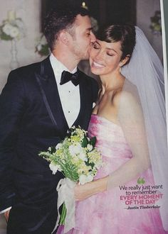 Fancy suit on Justin Timberlake: All the Details (and Photos!) of Jessica Biel and Justin Timberlake's Fairytale Wedding #stylecaster... They're so cute together :)