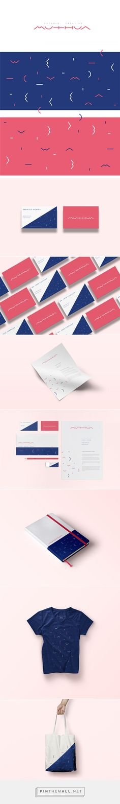 Muthua Estudio Creativo Branding by Elemasele on Behance