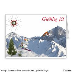 Merry Christmas from Iceland-Christmas Card