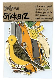 Sticker pack - Eve Izaak