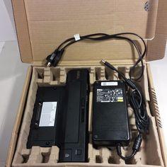 NEW IN BOX Dell E-Port Plus II Port Dock Unit PR02X USB 3.0 With AC Cord #D846D #Dell
