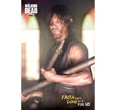 The Walking Dead Poster Daryl Faith Portrait. Hier bei www.closeup.de