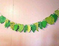 Items similar to Leaf Banner - Moana Birthday Party - Moana Decorations- Moana Party - Maui - Leaf Party Decor - Moana Birthday Banner on Etsy Moana Party, Moana Birthday Party, Luau Party, Baby Party, Birthday Parties, Jungle Theme Birthday, Lion King Birthday, Jungle Party, Dinosaur Birthday Party
